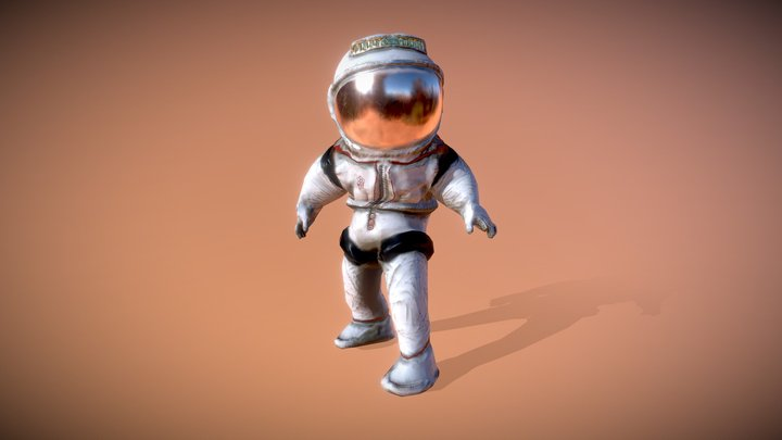 Astronaut : Mission to Mars 3D Model