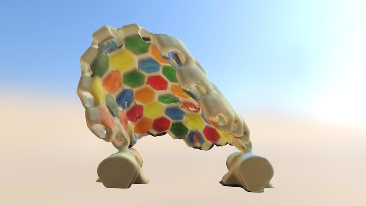 Transformable Shell 3D Model
