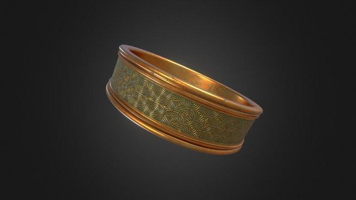 Copper Ring 3D Model