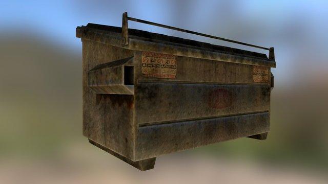 Free Dumpster 3D Model