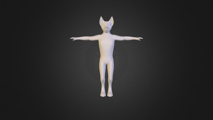 Character Refrence Model 3D Model