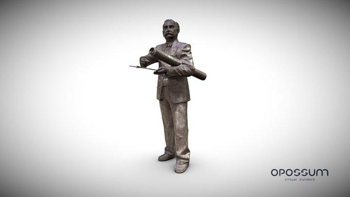 Escultura Enrique Nieto Melilla 3D Model