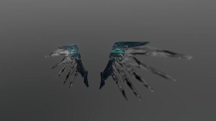 Mecha Wings~ 3D Model