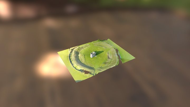 Knowlton  Church 3D Model