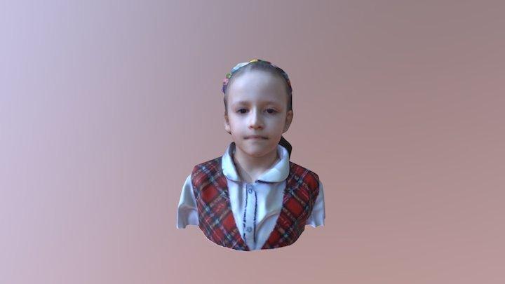 Mihaela 3D Model