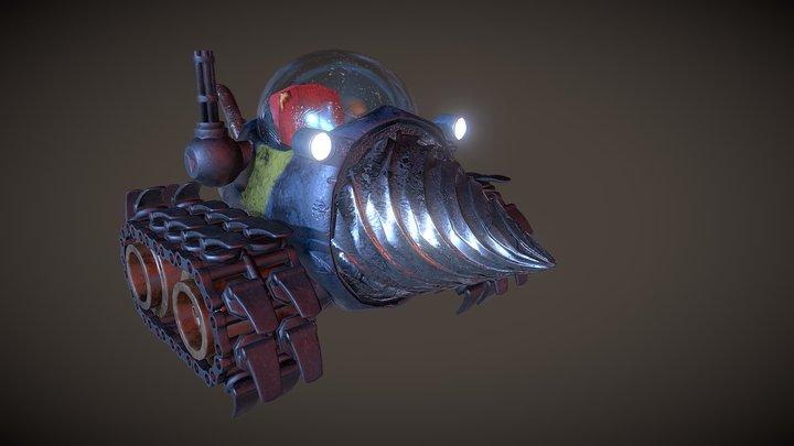 Metal Slug Drill - FanArt 3D Model