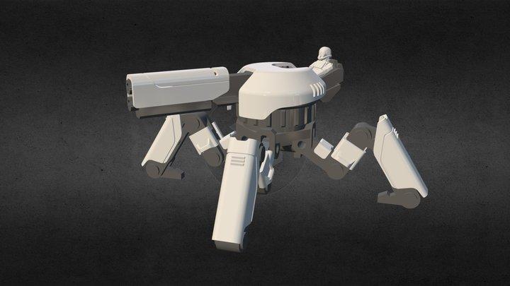 Andrew Lee DEMO 2 3D Model