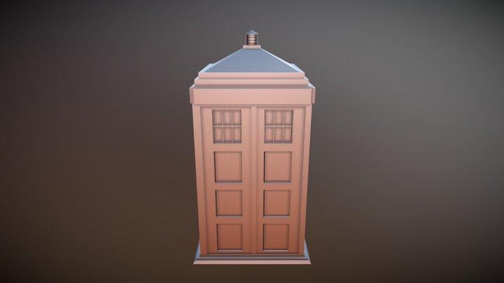 TARDIS-Version 2 3D Model