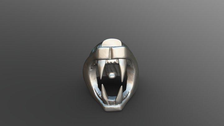 Jaguar Statuette Infinity 02 3D Model