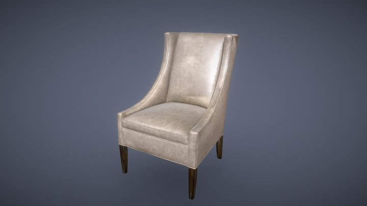 Dinning Room Chair 3D Model