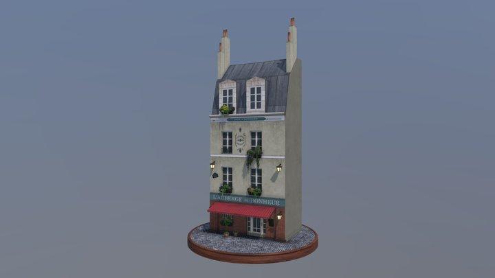 Haussmann Building 3D Model