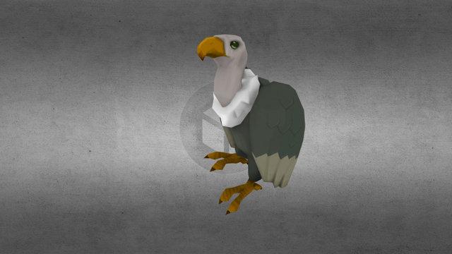 Vigilant Vulture 3D Model
