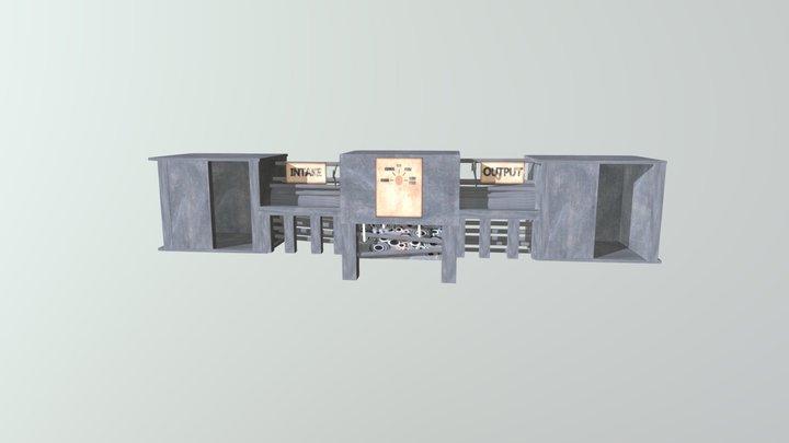 SCP-914 3D Model