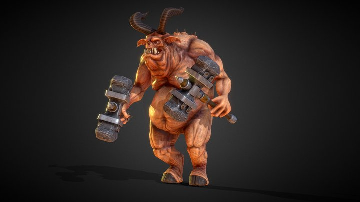 Demon Fat 3D Model