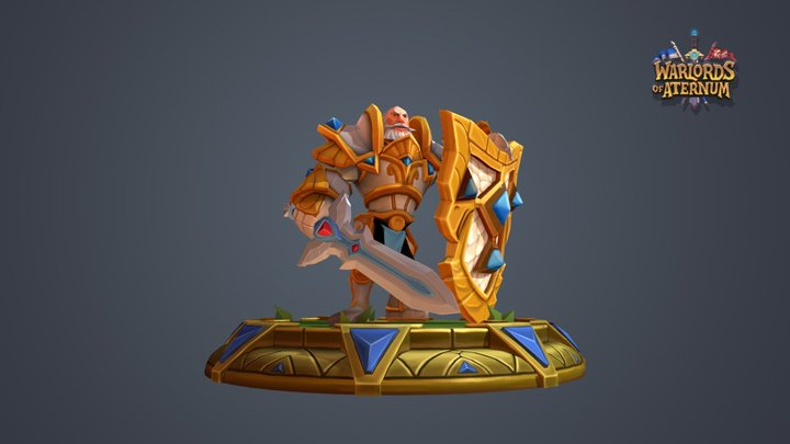 Dewport Guard Mythical Armor 3D Model