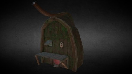 Boathouse 3D Model