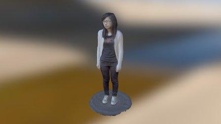 Rachel 3D Model
