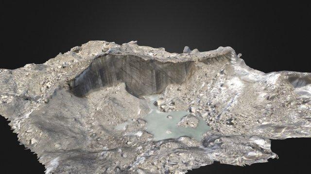 Ice cliffs on the Khumbu Glacier 3D Model