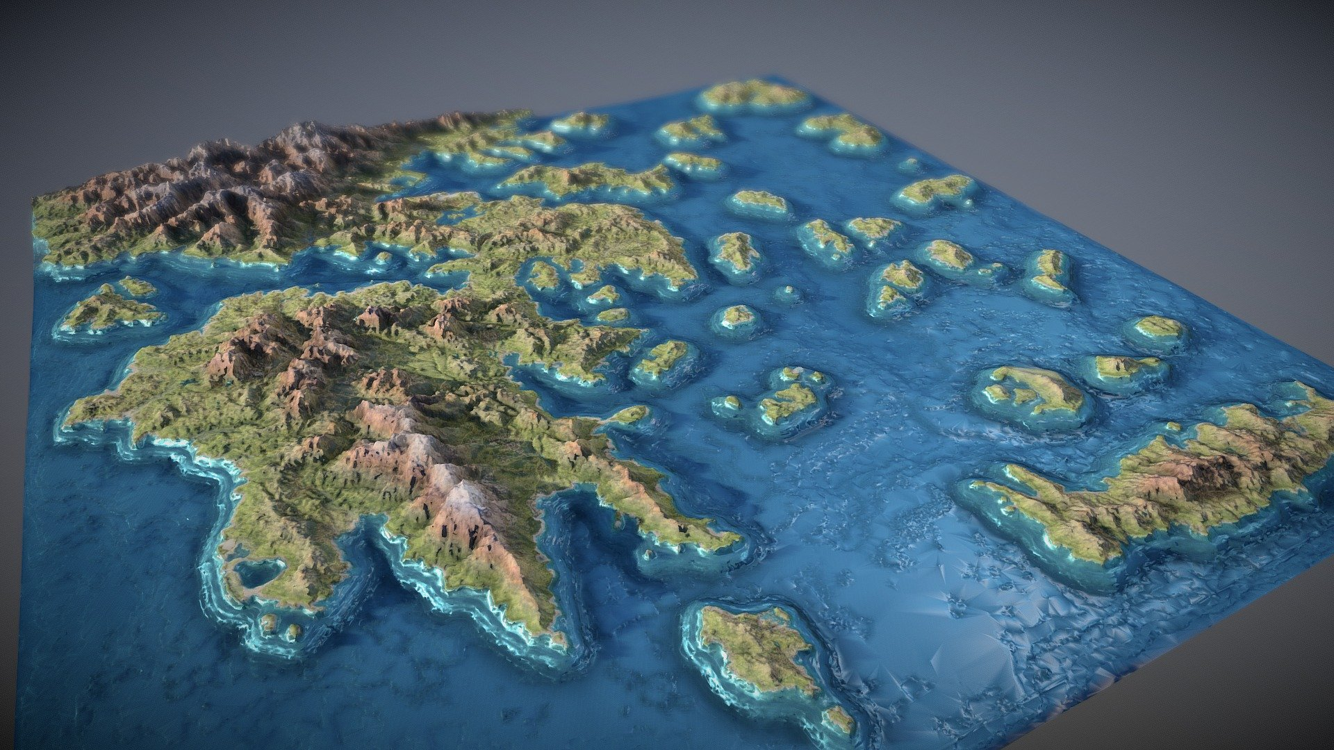 Assassin S Creed Odyssey 3d Map 3d Model By V7x V7x 038773f