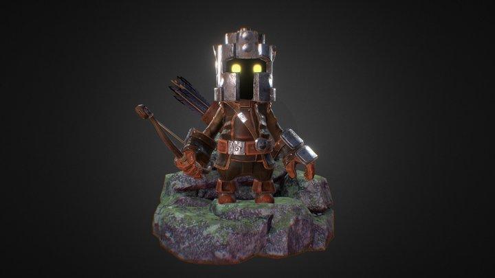 Little archer model 3D Model