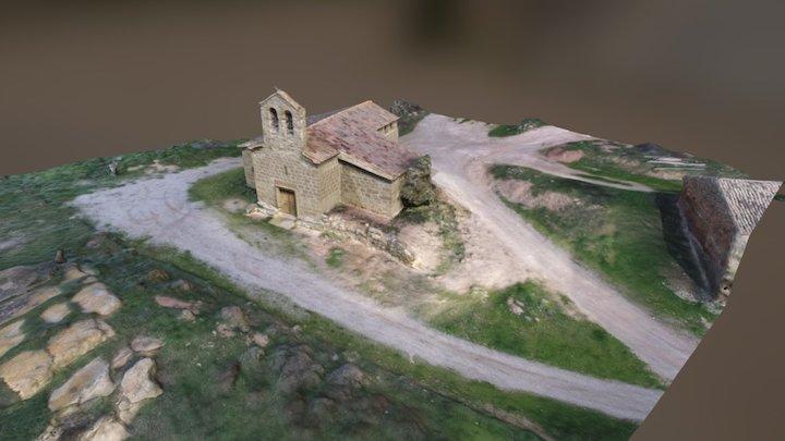 Santa Anna de Montcortès 3D Model