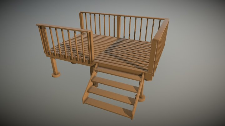 Deck Of Primitives 3D Model