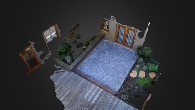 Cobbles Simplified 3d Mesh 3D Model