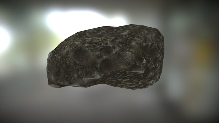 Beach Rock 9 from Photogrammetry 3D Model