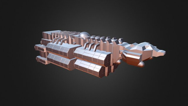 USS Goodall 3D Model