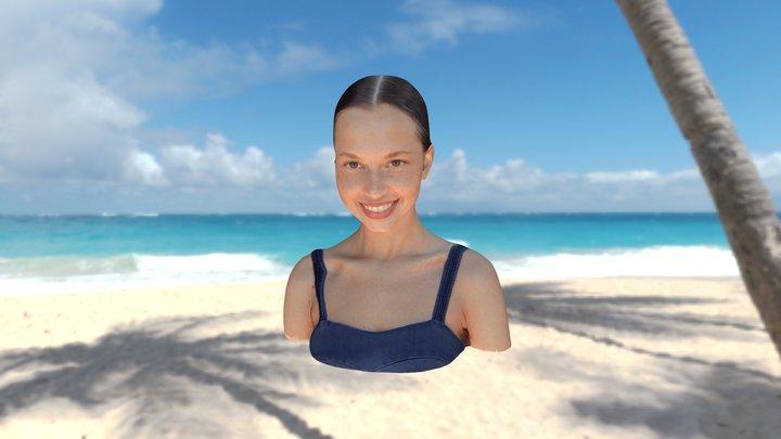 Valeria Semushina 3D Model