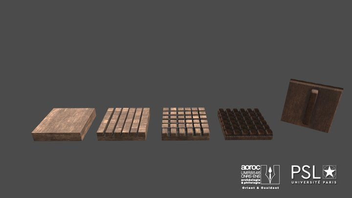 Fabrication de l'empreinte 3D Model