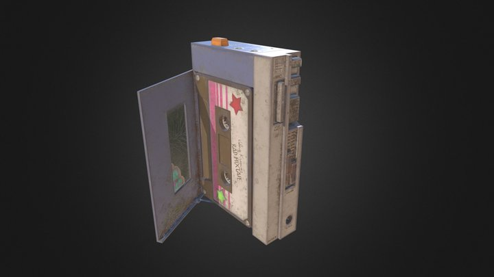 Walkman 3D Model