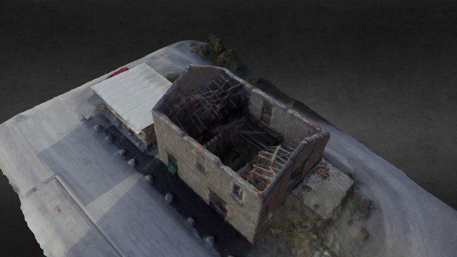 Sinistre incendie 3D Model