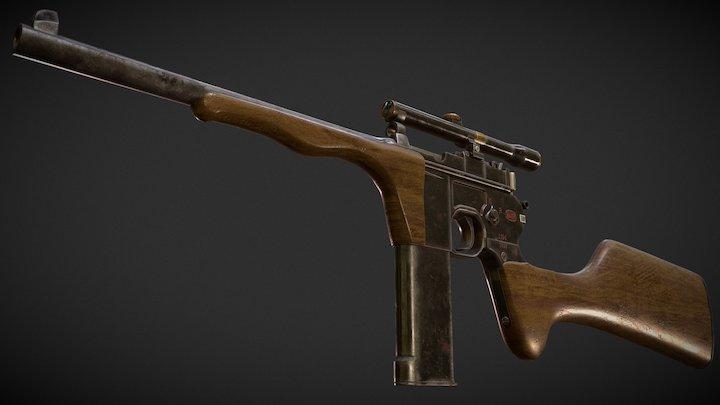 C96 Carbine 3D Model