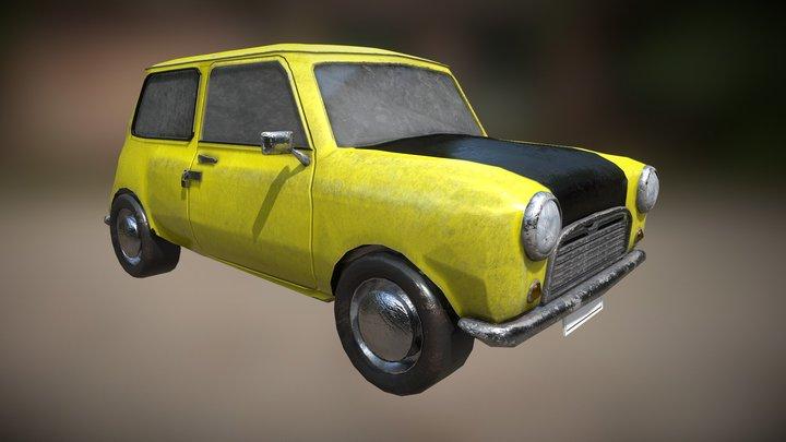 Mr.Bean Car 3D Model