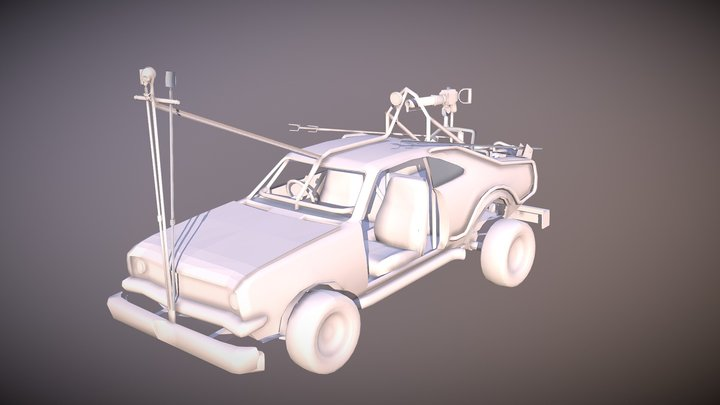Flame Manoro Mad Max Fury Road 3D Model