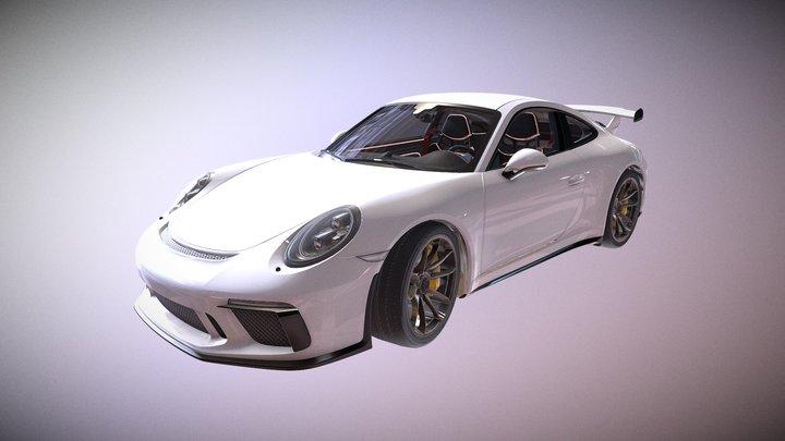 Unlock super sports car 08 3D Model