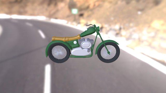 Moto!! 3D Model