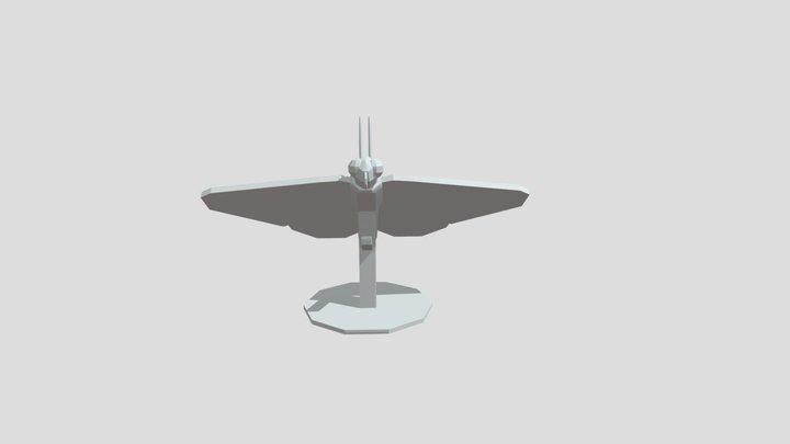ButterflyStand 3D Model