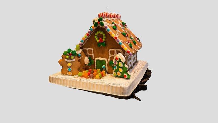 Gingerbread House! 3D Model