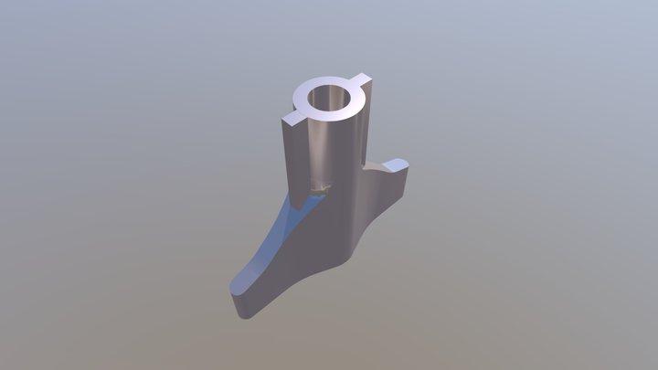 Cabinet Key / Schaltschrank Schlüssel 3D Model