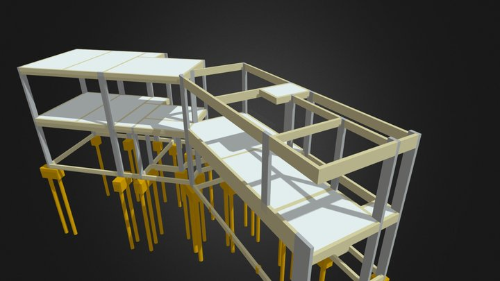 Conveniência - 180 m² 3D Model