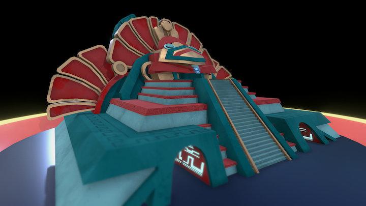 FEVER : Antique Zeug temple 3D Model