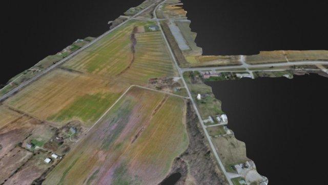 Redrock 3D Map 3D Model