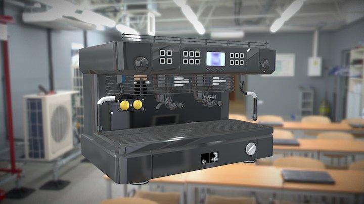 Cafetera 3D Model