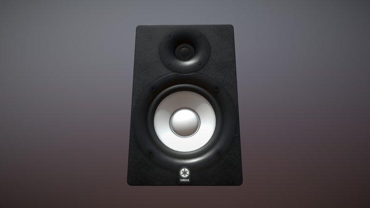 Yamaha HS8 Studio Monitor 3D Model