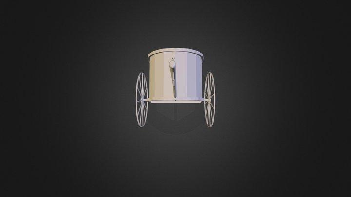 Ancient Greek Chariot 3D Model