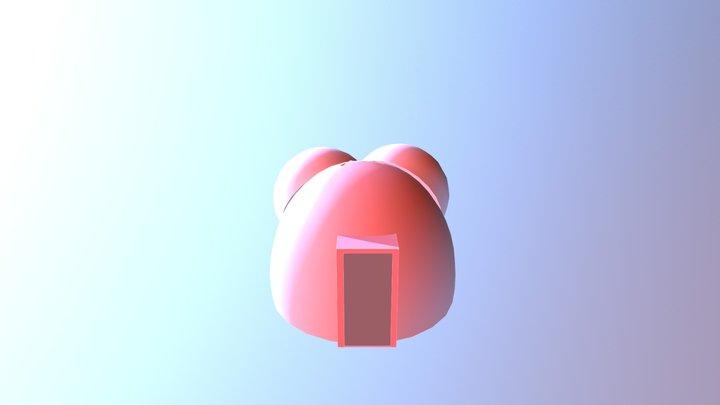 ส้วมตูดหมู 3D Model