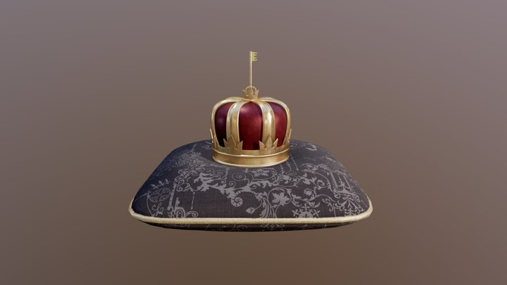 Sora's Crown (KHIII) 3D Model