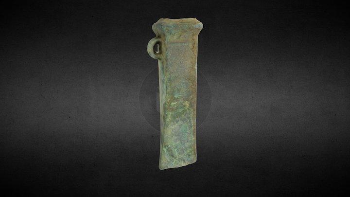 Evreux (FRA) - Bronze Age Axe (003) 3D Model